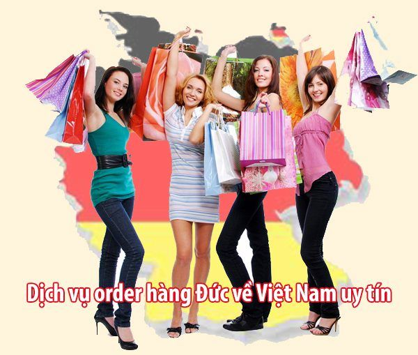 Order hàng Đức về Việt Nam