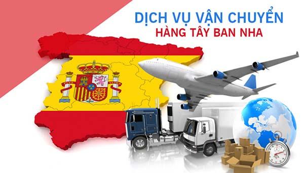 Vận chuyển hàng Tây Ban Nha