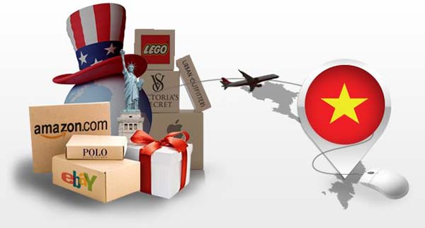 Vận chuyển hàng Mỹ về Việt Nam