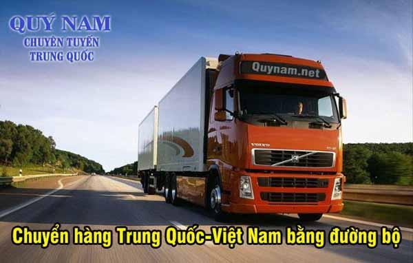 Vận chuyển hàng Trung Quốc bằng đường bộ