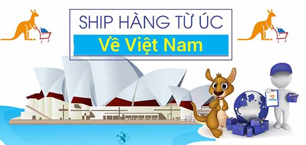 Ship hàng Úc về Việt Nam