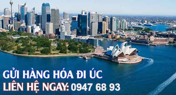 Nhận gửi hàng đi Úc