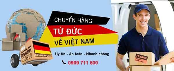 Chuyển hàng từ Đức về Việt Nam