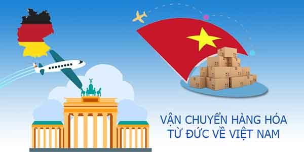 Vận chuyển hàng hoa1tu72 Đức về Việt Nam
