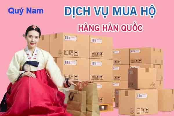 Mua hộ hàng Hàn Quốc