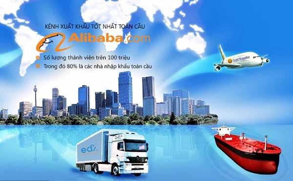 Mua hộ hàng trên Alibaba