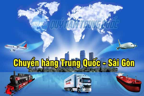 Vận chuyển hàng từ Quảng Châu về Sài Gòn