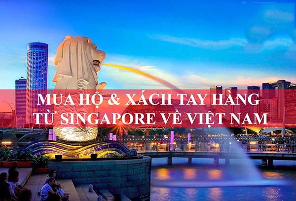 Order hàng xách tay Singapore
