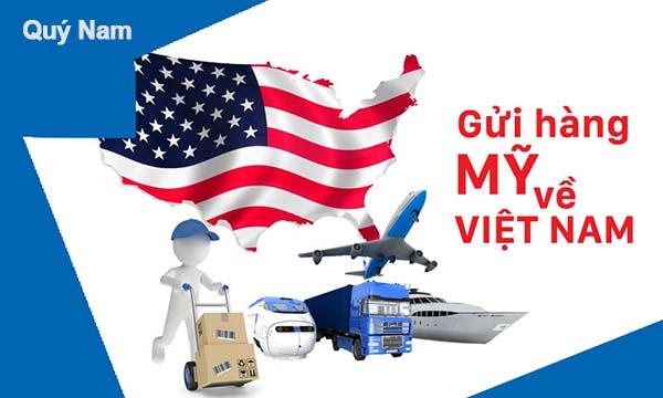 Gửi hàng từ Mỹ về Việt Nam