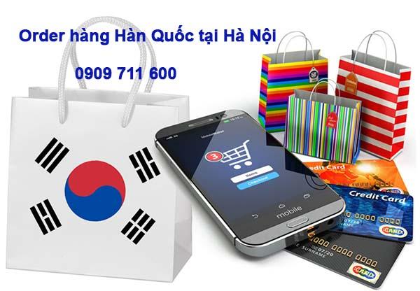 Order hàng Hàn Quốc tại Hà Nội