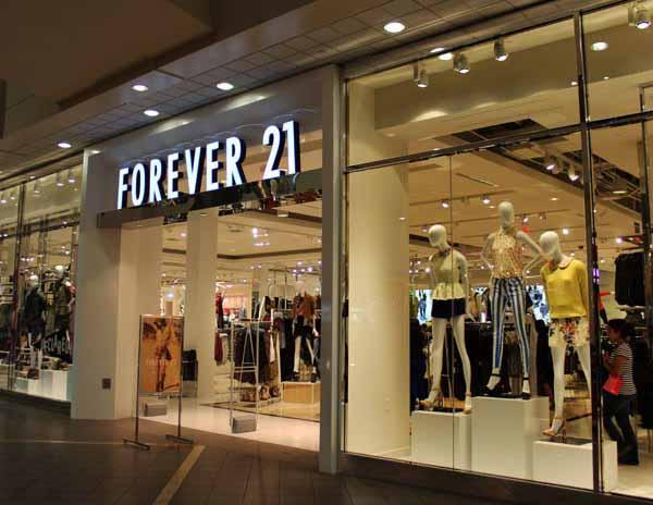Mua hàng Forver 21