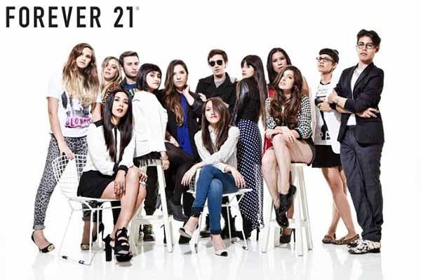 Mua hàng forever 21 qua website