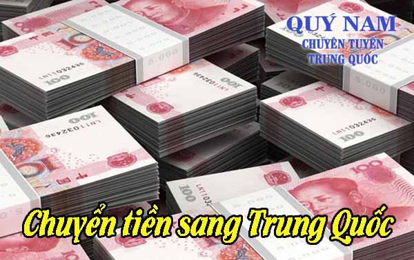 Chuyển tiền sang Trung Quốc uy tín