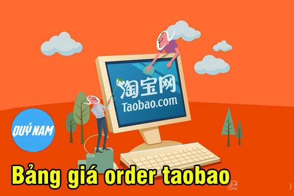 Bảng giá ship hàng Taobao