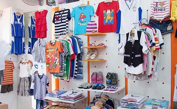 Kinh doanh quần áo trẻ em Quảng Châu