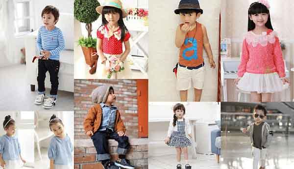 Nguồn hàng quần áo trẻ em Quảng Châu