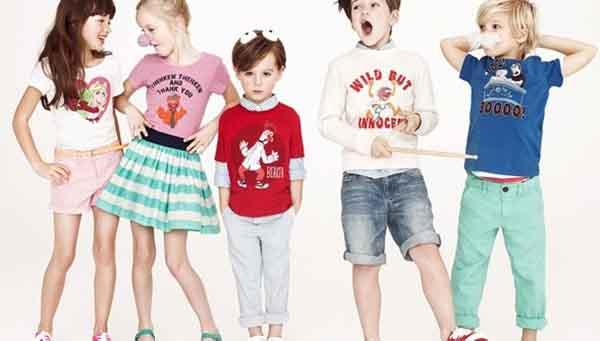 Order quần áo trẻ em Quảng Châu