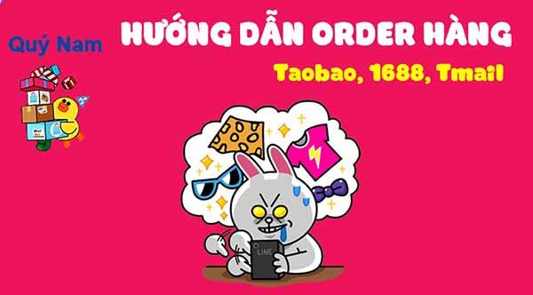 Cách order hàng Taobao