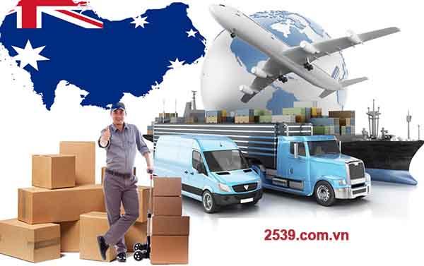 Gửi hàng đi Úc giá rẻ