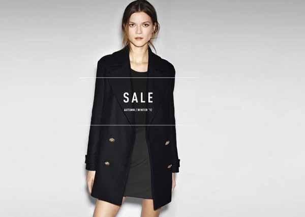 Zara Tây Ban Nha sales Off