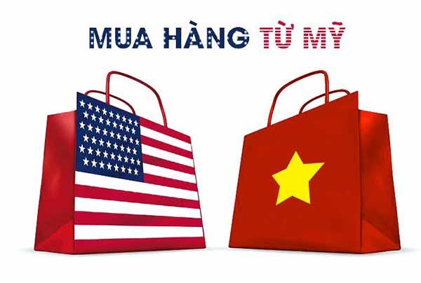 Mua hàng từ Mỹ