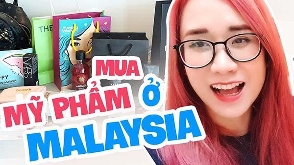 Mua mỹ phẩm ở Malaysia