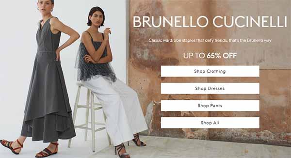 Web order hàng hiệu Sales