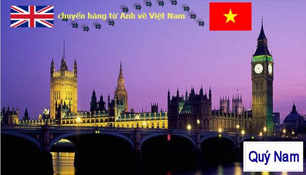 Nhu cầu gửi hàng từ Anh về Việt Nam