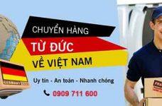 Dịch vụ vận chuyển hàng từ Đức về Việt Nam giá rẻ uy tín