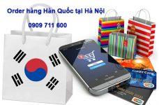 Nhận order hàng Hàn Quốc tại Hà Nội giá rẻ uy tín