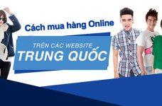 Các trang web mua hàng Trung Quốc online và cách order