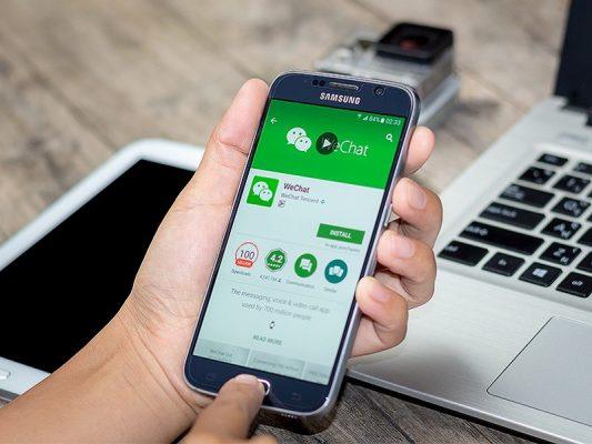 Trước khi đăng ký tài khoản Wechat, bạn cần cài đặt ứng dụng này