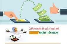 Nhận chuyển tiền từ Việt Nam sang Hàn Quốc uy tín nhanh chóng