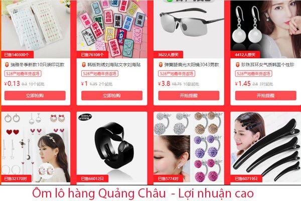 Có thể ôm lô hàng Quảng Châu bằng cách trực tiếp sang Trung Quốc lấy hàng