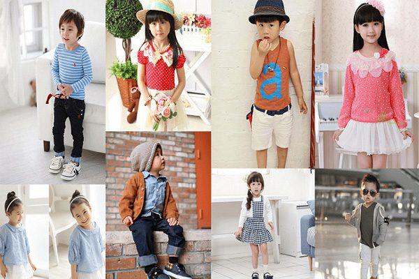 Thời trang trẻ em Hàn Quốc