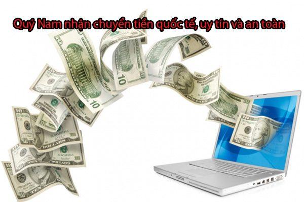 Quý Nam nhận thanh toán đơn hàng khi mua hàng online toàn cầu