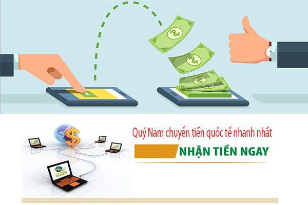 Quý Nam chuyển tiền từ VIệt Nam đi Mỹ