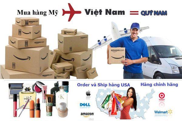 Quý Nam mua hộ và ship hàng Amazon về Việt Nam