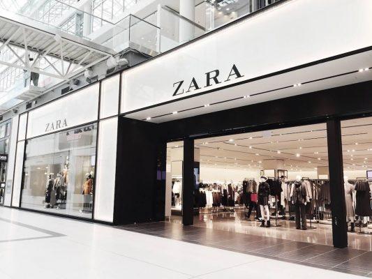Zara– thương hiệu thời trang phủ sóng rộng rãi tại các nước trên thế giới