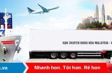 Nhận order hàng từ Malaysia ship về Việt Nam siêu tốc