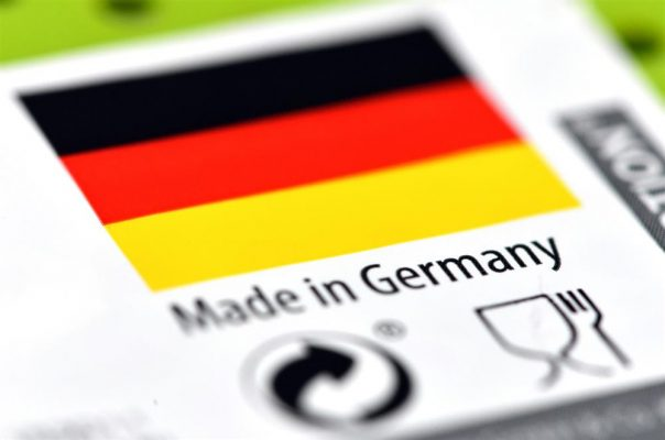 Các mặt hàng Đức thường được đánh giá rất cao về chất lượng.