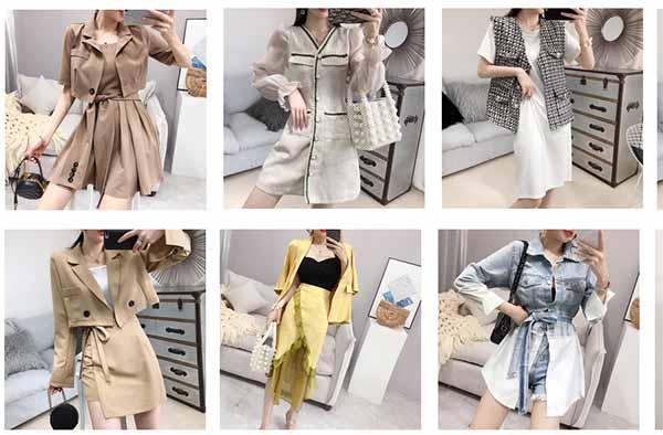 Váy Quảng Châu có nhiều loại, từ cao cấp đến bình dân giá rẻ