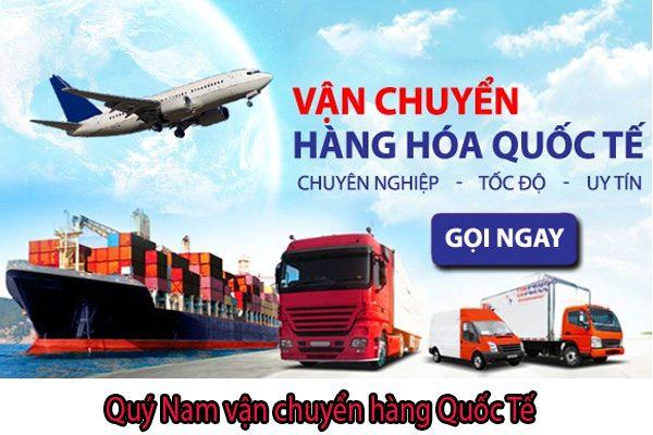 Quý Nam hỗ trợ vận chuyển quốc tế hiệu quả nhất Việt Nam.