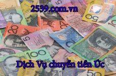 Cách chuyển tiền từ việt nam sang Úc nhanh nhất