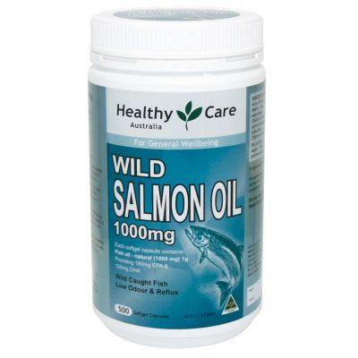 Wild Salmon Oil với tinh chất từ cá Hồi cung cấp Omega 3 hiệu quả