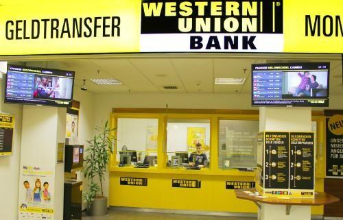 Người nhận có thể nhận tiền tại điểm giao dịch của Western Union tại nước ngoài