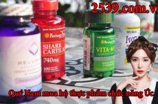 Các dòng thực phẩm chức năng Úc bán chạy tại thị trường Việt