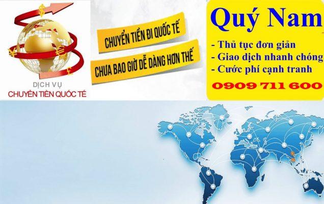 Sử dụng dịch vụ của Quý Nam là cách chuyển tiền quốc tế đơn giản và hiệu quả nhất.