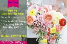 Những thắc mắc về dịch vụ điện hoa Việt Pháp?