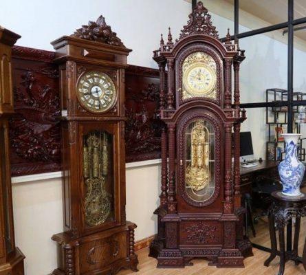 Đồng hồ quả lắc cổ của Pháp là niềm mơ ước của nhiều người đam mê đồ cổ